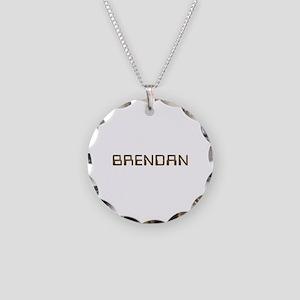 Brendan Circuit Necklace Circle Charm