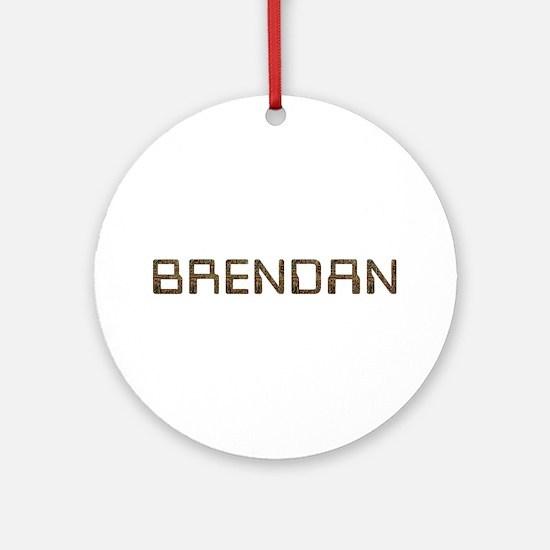 Brendan Circuit Round Ornament