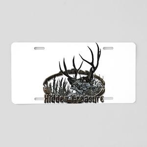 Hidden treasure Aluminum License Plate