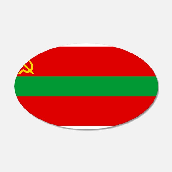 Transnistria - National Flag - Current Wall Decal