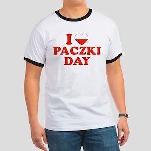 I Heart Paczki Day Ringer T