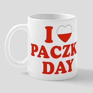 I Heart Paczki Day Mug