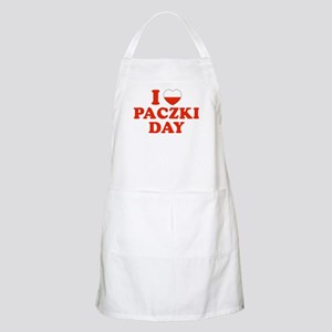 I Heart Paczki Day BBQ Apron