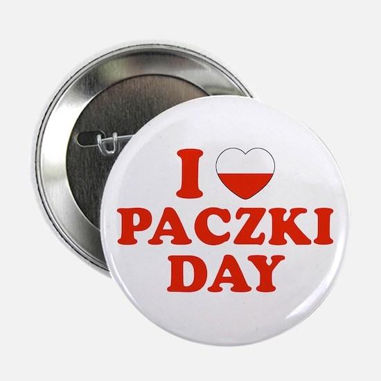 I Heart Paczki Day Button