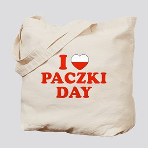I Heart Paczki Day Tote Bag