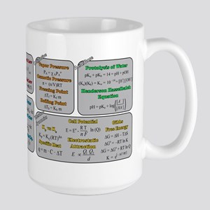 Chemistry Study Tables Large Mug