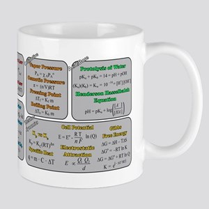 Chemistry Study Tables Mug Mugs