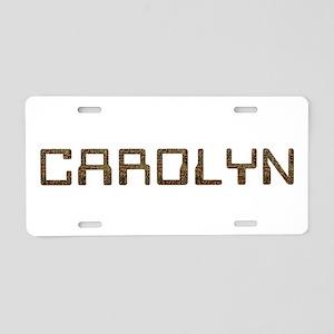 Carolyn Circuit Aluminum License Plate