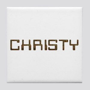 Christy Circuit Tile Coaster