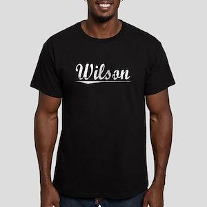 Wilson, Vintage Men's Fitted T-Shirt (dark)