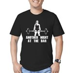 Another Night at the Bar Men's Fitted T-Shirt (dar