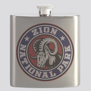 Zion Ram Circle Flask