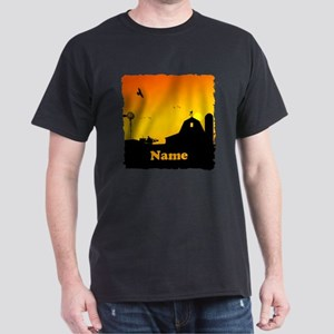 Sunrise at the Farm Dark T-Shirt