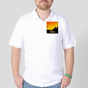 Sunrise at the Farm Golf Shirt