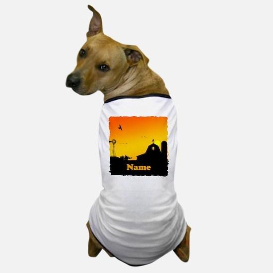 Sunrise at the Farm Dog T-Shirt