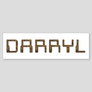 Darryl Circuit Bumper Sticker
