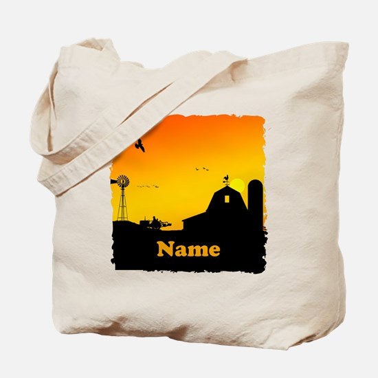 Sunrise at the Farm Tote Bag