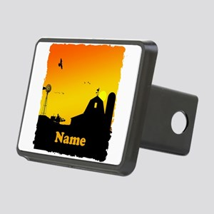 Sunrise at the Farm Rectangular Hitch Cover