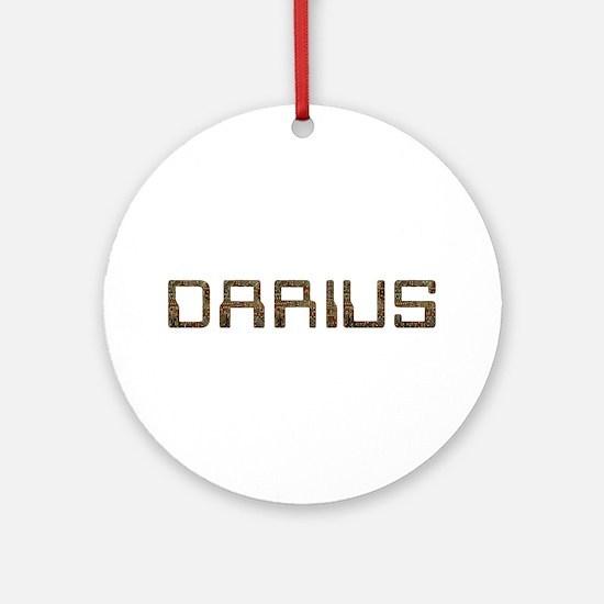 Darius Circuit Round Ornament