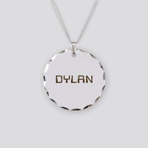 Dylan Circuit Necklace Circle Charm