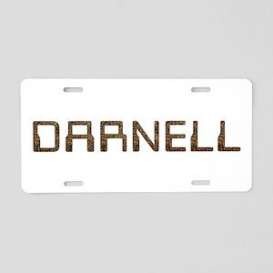 Darnell Circuit Aluminum License Plate