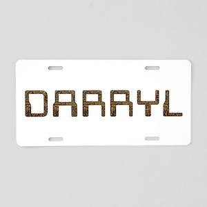 Darryl Circuit Aluminum License Plate