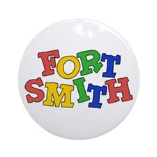 Fort Smith (colors) Ornament (Round)