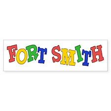Fort Smith (colors) Bumper Sticker