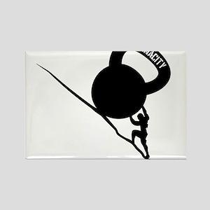 Sisyphus Kettlebell Tenacity Rectangle Magnet