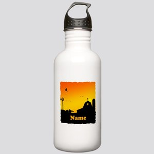 Sunrise at the Farm Stainless Water Bottle 1.0L