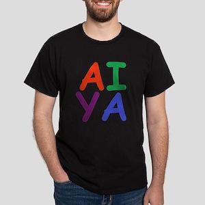 Aiya! Black T-Shirt