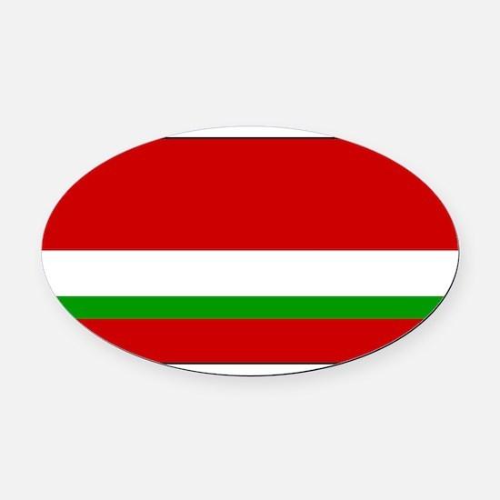 Tajikistan - National Flag - 1991-1992 Oval Car Ma