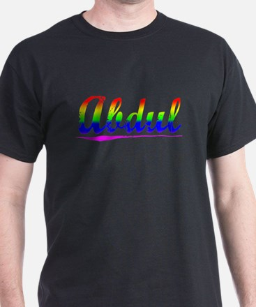 Abdul, Rainbow, T-Shirt
