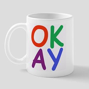 Okay! Right-handed Mug