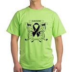 Survivor Strength Melanoma Green T-Shirt
