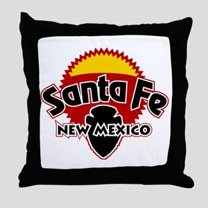 Santa Fe Sun Throw Pillow