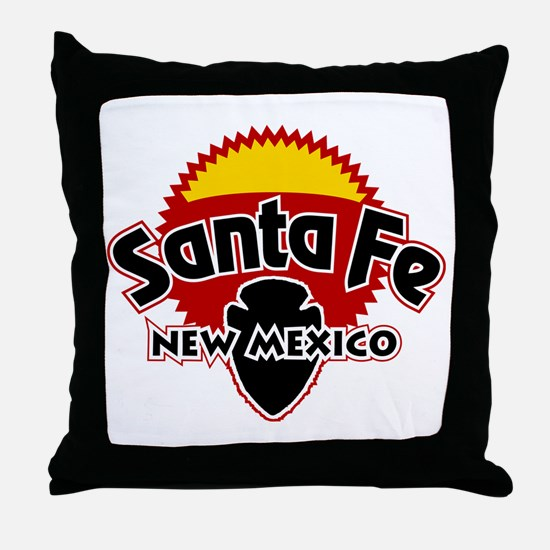 Santa Fe Sun Throw Pillow