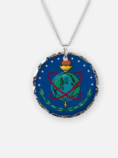 DIA seal Necklace