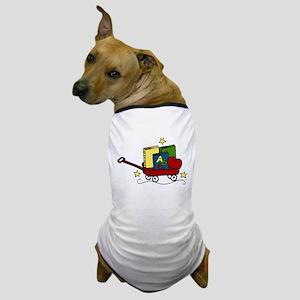 Book Wagon Dog T-Shirt