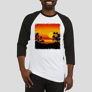 Island Sunset Baseball Jersey