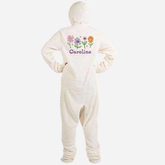Daisy Garden Footed Pajamas
