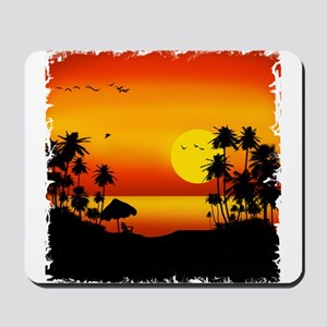 Island Sunset Mousepad