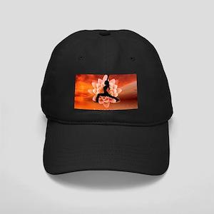 Born again Yogini Black Cap
