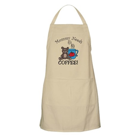 Mommy Needs Coffee Apron