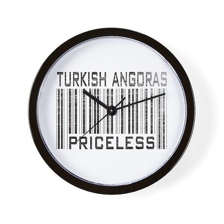 Turkish Angoras Priceless Wall Clock