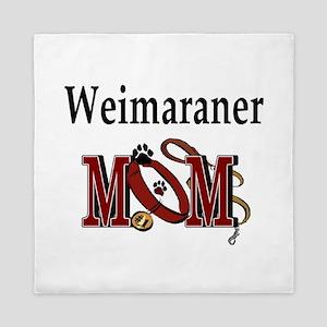 Weimaraner Mom Queen Duvet