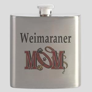 Weimaraner Mom Flask