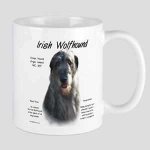 Irish Wolfhound (grey) 11 oz Ceramic Mug