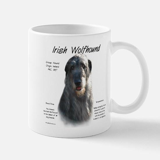 Irish Wolfhound (grey) Mug