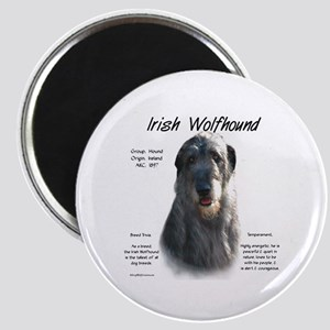Irish Wolfhound (grey) Magnet
